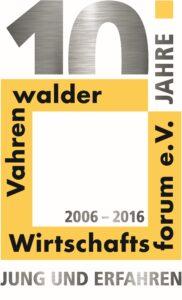 Logo 10 Jahre VWF