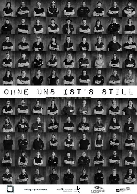 """VWF unterstützt die Aktion """"Ohne uns ist's still"""""""